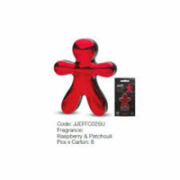 Mr&Mrs Car air freshener JEFF Raspberry&Patchouli, Chrome red  8,00
