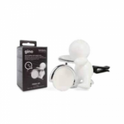 Mr&Mrs GINO Scent for Car, White, with magnetic token, Fresh Air  9,00