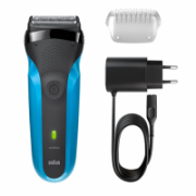 Braun Electric Shaver 310s Wet use, Rechargeable, Charging time 1 h, Ni-MH, Batteries, Blue  50,00