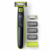 Philips Shaver OneBlade QP2620/20 Cordless, Charging time 8 h, Operating time 45 min, Wet use, NiMH, Number of shaver heads/blades 1, Green/Grey  44,90