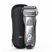Braun Electric Shaver 7893s Wet use, Rechargeable, Charging time 1  h, Li-Ion, Network / battery, Number of shaver heads/blades 4, Silver/ black  151,00