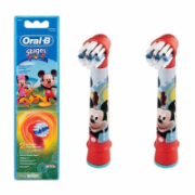 Oral-B Mickey Mouse  EB-10  Replacement Heads For Toothbrush Extra Soft for kids, Number of brush heads included 2  14,00