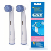 Oral-B Sensitive EBS 17-2  Replacement brushes, White, Number of brush heads included 2  14,00