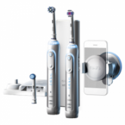 Oral-B Toothbrush PRO 8900 Electric Rechargeable, Silver, Sonic technology, Operating time 48 min, Number of brush heads included 3  116,90