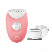 Braun Epilator Silk-épil 3 SE3440 Corded, Number of speeds 2, Pink  39,90