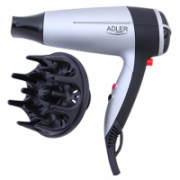 "Adler AD 2239 Hair dryer, 2000W, 2 speed settings, Concentrator & diffusor, ""Cool shot"" button  17,00"