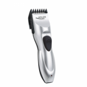 Adler AD 2813 Hair clipper, Cord/cordless operation, 7 length settings, Silver Adler  12,00