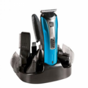 DomoClip DOS106 Rechargeable multifunctional hair clipper, Stainless steel blades, Black/Blue DomoClip  28,00