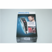 SALE OUT. PHILIPS HC7460/15 Hair Clipper, Stainless steel blades, 60 length settings, 120mins cordless use, Auto Turbo function Philips hair clipper Hair Clipper, Number of length steps 60, Black, Silver, DAMAGED PACKAGING  54,00