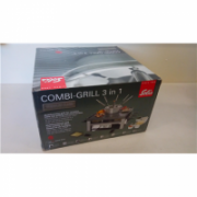 SALE OUT. Solis Combi-Grill 3 in 1, Type 796, fondue, raclette, gourmet and grilling, 1200 W raclette/grill, 800W fondue, fondue capacity 1. SOLIS Fondue, raclette, gourmet and grilling Combi-Grill 3 in 1 1200 / 800 W, DAMAGED PACKAGING, Multifunctional  252,00