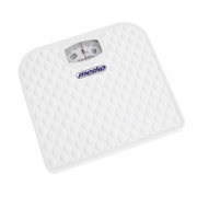 Mesko Bathroom mechanical scale MS 8160 Maximum weight (capacity) 130 kg, Accuracy 1000 g, White  8,90