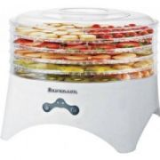 Dehydrator RAVANSON SD-2030; 5 transparent trays, lid with heating element, motor, fan, thermostat, overheat protection  28,00