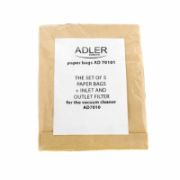 Adler Dust Bag 5 pcs + 2 Filters AD 7010.1  for AD 7007 Vaccum cleaner  5,90