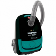 Hoover Vacuum cleaner CP14_CP36011 Bagged, Black/ green, 1400 W, 2,3 L, D, A, D, D, 85 dB, HEPA filtration system,  55,00