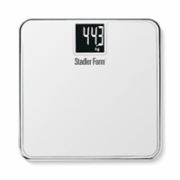 Stadler Scale TWO White SFL0012/ Big LCD display 62x62 mm/ Grade of measure: kg, pounds, stones/ Weight: max 180 kg/ Chrome frame/ Automatic insertion  191,00