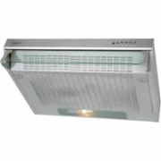CATA F-2050 X Extractor hood, 3 extraction levels, 380kub.m, Lamps 2x40W, 120mm, Mechanical push button control, Inox  38,00