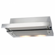 Cata TF-2003 60SD Glassline telescopic cooker hood, 1 Tangential Motor 100W, 600 kub.m/h, 2 levels button control, 2x50W Halogens, 44/55 dB(a),Outflow: 120 mm, Sand glass front panel  450,00