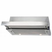 Cata TF-6600 Duralum Telescopic cooker hood,Tangential motor double turbine, 1115 kub.m/h, 3 levels, Halogen lighting,49/63 dB(a), Outflow: 150mm, Stainless steel  552,00