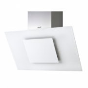 Cata THALASSA 700 XGWH White Glass Wall hood, ,,Bus Stop'' type, 1200 kub.m ( IEC 820 kub.m/h), 2x50 W Halogens, adjustable intensity, Touch Control&Timer, Filter cleaning indicator, Outflow: 150/125mm, Perimeter Extraction.  1.502,00