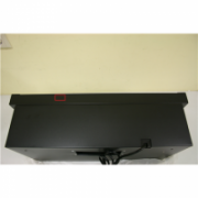 SALE OUT. Cata TF-2003 600GBK Glassline telescopic cooker hood, 1 Tangential Motor 100W( C class), 340 kub.m/h, 2 levels Button control, 2ECOled lighting, Outflow: 120mm, Black Glass - SMALL DENT ON BACK CATA Hood TF 2003 600 GBK Energy efficiency class C  83,00