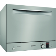 Bosch Dishwasher SKS62E38EU Free standing, Width 55 cm, Number of place settings 6, Number of programs 6, A+, Display, AquaStop function, Silver Inox  308,00