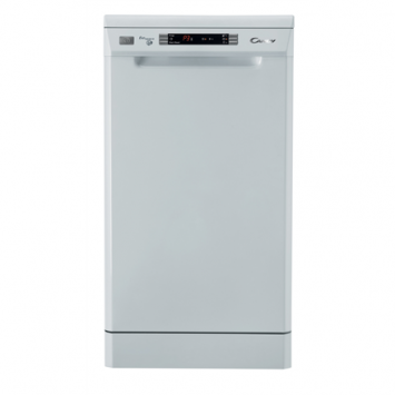 Candy CDP 4725 Dishwasher, 85 x 45 x 60 cm cm, 9, Energy efficiency class A+, White, 7, Digit, Yes