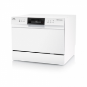 ETA Dishwasher ETA138490000 Table, Width 55 cm, Number of place settings 6, Number of programs 8, A+, Display, AquaStop function, White  229,00