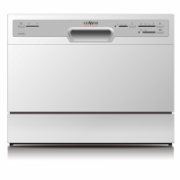 Goddess Dishwasher GODDTC656MW8 Table, Width 55 cm, Number of place settings 6, Number of programs 6, A+, AquaStop function, White  229,00