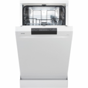 Gorenje Dishwasher GS52010W Free standing, Width 45 cm, Number of place settings 9, Number of programs 5, A++, Display, White  307,00