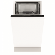 Gorenje Dishwasher GV54110 Built in, Width 45 cm, Number of place settings 9, Number of programs 5, A++, Display, AquaStop function, White  304,00