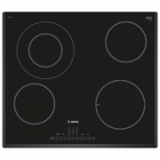 Bosch Hob PKF651FP1E Vitroceramic, Number of burners/cooking zones 4, Black, Display, Timer  203,00