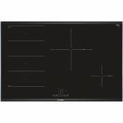 Bosch Hob PXE875BB1E Induction, Number of burners/cooking zones 4, Black, Display, Timer  504,00