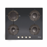 Candy CVG 64 SGNX Gas on glass, Number of burners/cooking zones 4, Black,  154,00