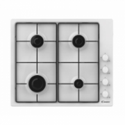 Candy Hob CHW6LWW Gas, Number of burners/cooking zones 4, White,  87,00