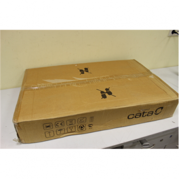 CATA Hob 912 LCI  Gas, Number of burners/cooking zones 3, Black, DAMAGED PACKAGING