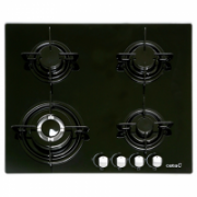 CATA Hob  CB 631 A  Gas on glass, Number of burners/cooking zones 4, Black,  159,00