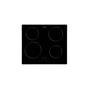 CATA Hob IB 6304 BK Induction, Number of burners/cooking zones 4, Touch control, Timer, Black