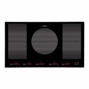 CATA Hob INSB 9012 BK Induction, Number of burners/cooking zones 5, Slider Touch Control, Timer, Black  702,00