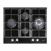 CATA LCI 631 A BK Gas on glass, Number of burners/cooking zones 4, Black  258,00