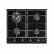 CATA RCI 631 BK Gas on glass, Number of burners/cooking zones 4, Black,  303,00