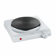 Severin Table hob DK 1091 Number of burners/cooking zones 1, Stainless steel, Control type Rotary, White  26,00