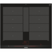 SIEMENS Hob EX675LYC1E Induction, Number of burners/cooking zones 4, Black, Display, Timer  909,00