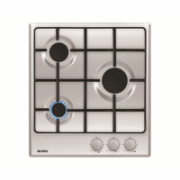 Simfer Hob H4.300.VGRIM Gas, Number of burners/cooking zones 3, Rotary knobs, Inox,  115,00