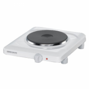 Table hob Rommelsbacher THL 1597 Number of burners/cooking zones 1, Control type Knob, White  54,00