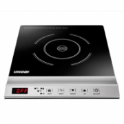 Unold Induction cooker Single Pro 58255 Ceramic glass, Control type Front top, Stainless steel/Black  57,90