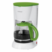 Bomann KA 183 Coffee maker, White/Green  77,00