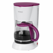 Bomann KA 183 Coffee maker, White/Violet  77,00
