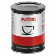Caffe Musetti ARABICA Ground Coffee TIN, 100% Arabica, 250g Caffe Musetti  10,00