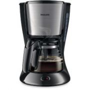 Philips Daily Collection Coffee maker HD7435/20 With glass jug Black & metal  34,00