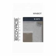 Ecovacs Cleaning Pad   W-S072  Washable and reusable microfibre, Winbot 850 Ecovacs, 2 pcs. Grey  21,99